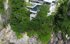 panorama imprenable depuis villa de luxe phuket
