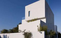 façade maison d'architecte bucarest roumanie