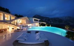 extérieur romantique maison de luxe
