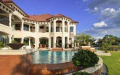 piscine et jardin de luxe résidence privée