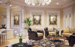 architecture d'intérieur luxueuse villa