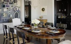 salle à manger en bois massif luxe