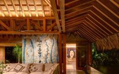 intérieur design exotique bois authentique