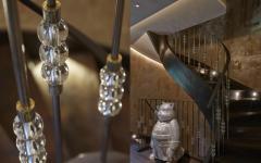 objets de déco glamour maison de luxe