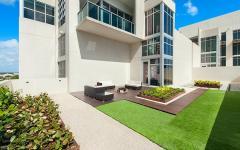 terrasse extérieure aménagée appartement de ville