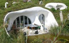maison écologique verte projet innovant