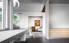 maison contemporaine d'archi en blanc
