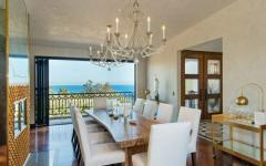 vue sur la mer résidence de haut standing Malibu