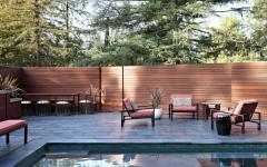 terrasse luxe piscine design extérieure