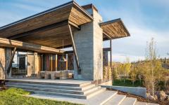 espaces extérieurs maison de vacances avec vue