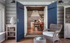intérieur maison en bois luxe
