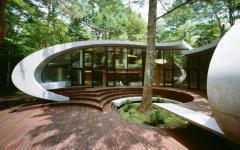 patio original avec arbre maison secondaire