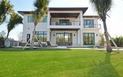 résidence moderne de vacances luxe
