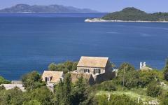 maison de vacances sur la côte croate