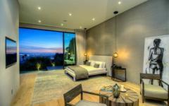 chambre à coucher avec mur mobile