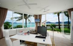 intérieur villa de vacances luxe phuket vue mer