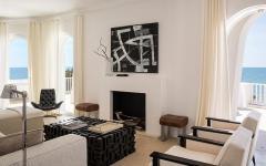séjour salon moderne résidence secondaire villa de vacances
