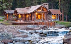 belle chalet maison de vacances rustique