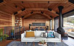 agrandissement de maison en bois avec vue