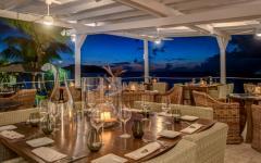 restaurant romantique sur la plage