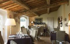 restaurant boutique hôtel rustique toscane
