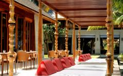 restaurant villa aux Maldives