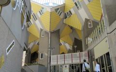 cube houses rotterdam vues d'intérieur