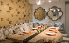 meubles brut table rustique design