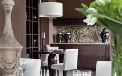 table dressée résidence de standing moscou