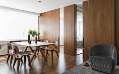 délimitation baies coulissante design intérieur maison appartement