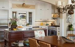cuisine et séjour mobilier bois massif