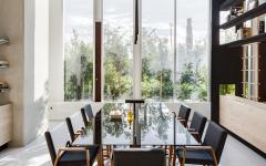 salle à manger table design luxe 8 personnes
