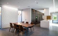 salle à manger cuisine de luxe maison atypique d'archi