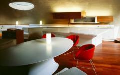 salle à manger minimaliste design japonais