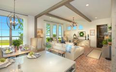 intérieur manoir familial chic luxe