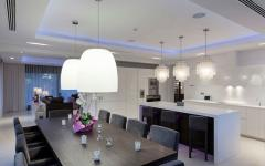 salle à manger cuisine villa meublée luxe location vacances marbella