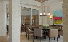 salle à manger luxe design contemporain