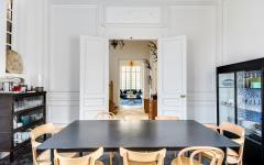 salle à manger design sobre élégant