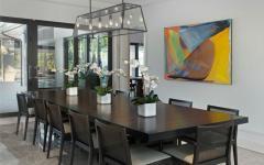 salle à manger maison de luxe