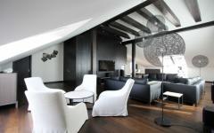 appartement moderne sous le toit