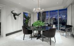 salle à manger appartement de ville luxe