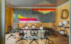 salle à manger séparé du séjour appartement de luxe