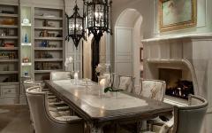 salle à manger à part design mobilier massif