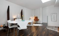 salle à manger mobilier épuré minimaliste
