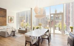 ambiance et espace lumineux loft New York