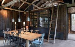 salle à manger maison rénovée de vacances