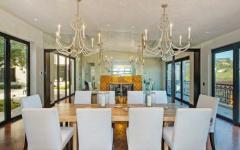 salle à manger luxe élégant