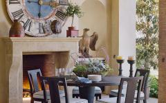 salle à manger décoration design campagne