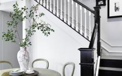 style classique intérieur noir et blanc