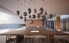 salle à manger luminaire design luxe